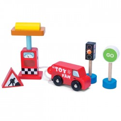 Car + Petrol Pump Set