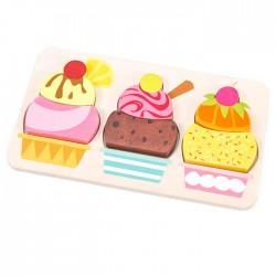 Puzzle crème glacée