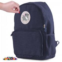 Pixie Backpack NAVY BLUE  1 FRONT POCKET