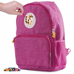 Pixie Backpack FUCHSIA 1 FRONT POCKET