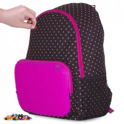 PIXIE BACKPACKS DOTS / FUCHSIA