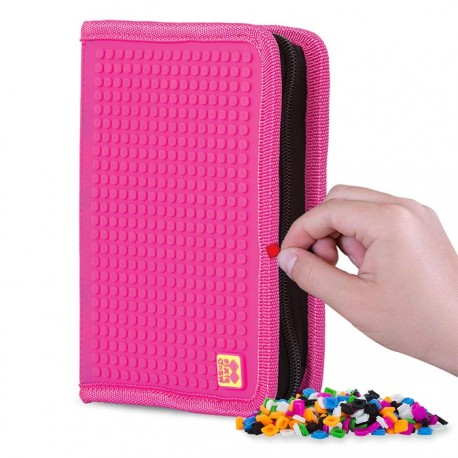 Pixie School Pencil Case BUBBLE GUM / FUCHSIA