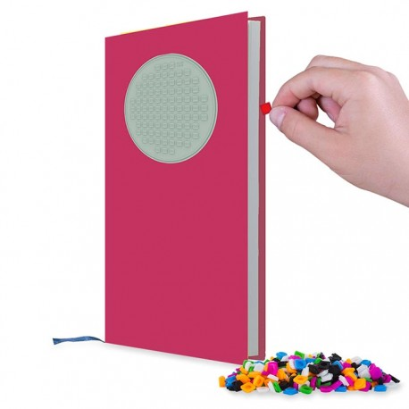Pixie Journal FUCHSIA COVER WITH PIXIE GLOW IN THE