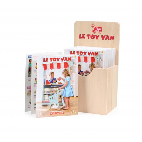 Présentoir mini catalogue Le Toy Van