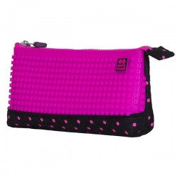 PIXIE PENCIL CASES DOTS / FUCHSIA