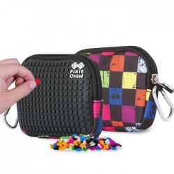 Pixie Pouch CHECKERED MULTICOLOR / BLACK