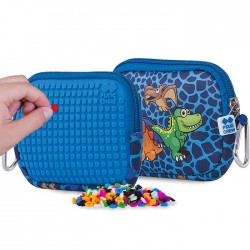 PIXIE POUCH DINO BLUE