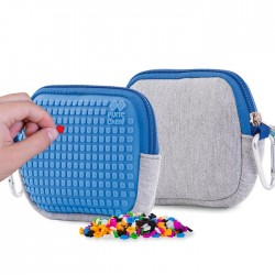 Pixie Pouch GREY / BLUE