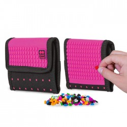 Pixie Wallet FUCHSIA AND DOTS