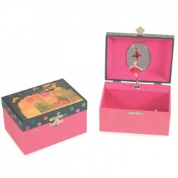 MUSICAL JEWELRY BOX LANTERN 14.5 x 10.5 x 8.5 CM