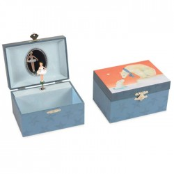 MUSICAL JEWELRY BOX POLAR BEAR 14.5 x 10.5 x 8.5 CM