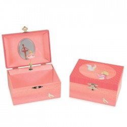 MUSICAL JEWELRY BOX SEABIRD Swan Lake