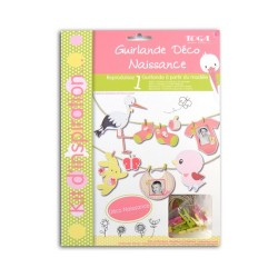 GARLAND DECO KIT - LOU PINK