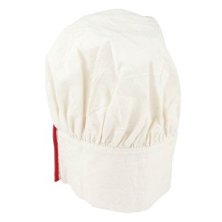 WHITE COOKING HAT 24 X 25 CM Ø