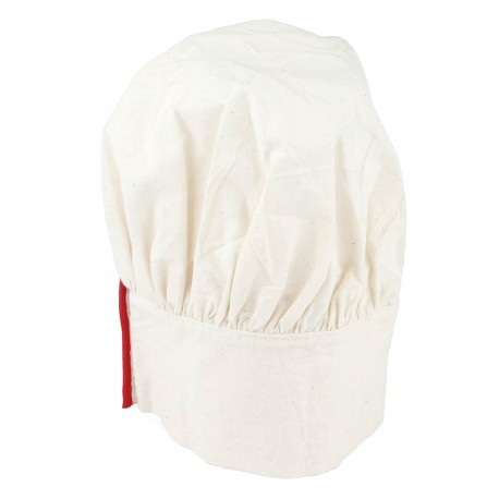 WHITE COOKING HAT