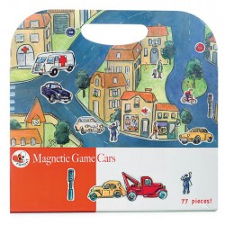 MAGNETIC GAME CARS 25 X 21 CM