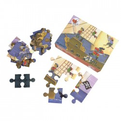 PUZZLE PIRATE 40 PCS 30 X 20 X 8 CM