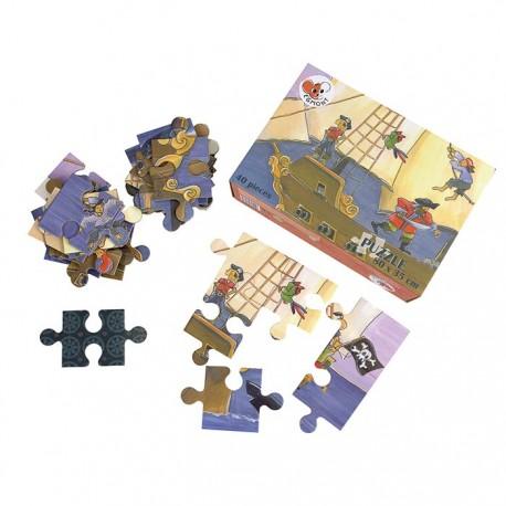 PUZZLE PIRATE 40 PCS 80 x 35cm (4P)