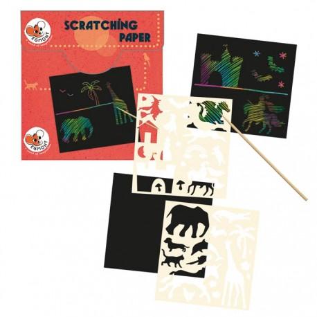 SCRATCHING CARDS 18 X 20 X 2 CM