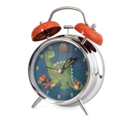 ALARM CLOCK ARTHUR THE DINOSAUR 11 CM Ø