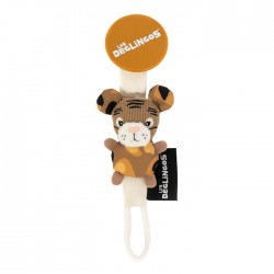 Pacifier clip Speculos the Tiger - New