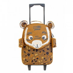Valise Trolley Speculos le Tigre - Nouveau