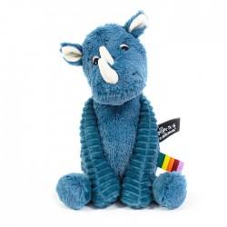 Grobisou the Rhino - blue