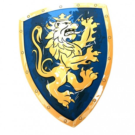Knight Shield, Noble Knight, blue, Small