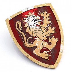 Knight Shield, Noble Knight, red, Small