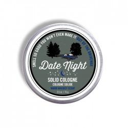 """Cologne solide en crème """"Date Night"""" 2.5 oz"""