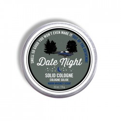 Solid Cream Cologne 2.5 oz  Date Night