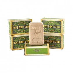 "Barre de savon ""Boy's Don't Stink"" 8 oz"