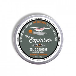 Solid Cream Cologne 2.5 oz  Explorer