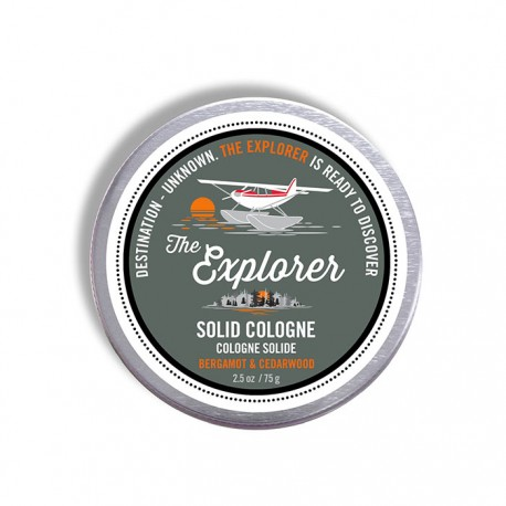 Solid Cream Cologne 2.5 oz  Explorer