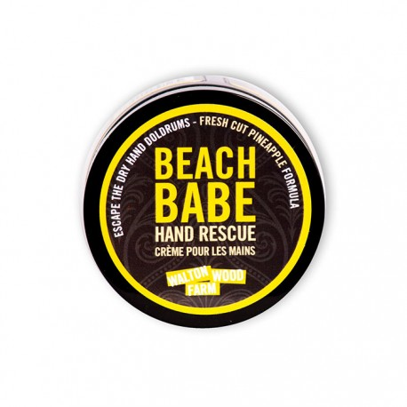"""Crème pour les mains """"Beach Babe"""" 4 oz"""