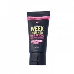 "Crème pour les mains ""Week from Hell"" tube 2 oz"