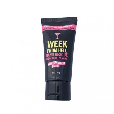 """Crème pour les mains """"Week from Hell"""" tube 2 oz"""