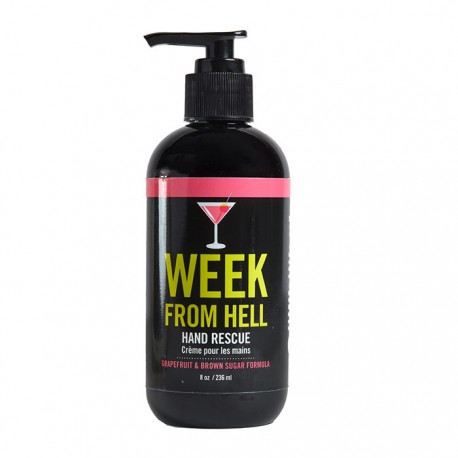 "Crème pour les mains ""Week From Hell"" pompe 8 oz"