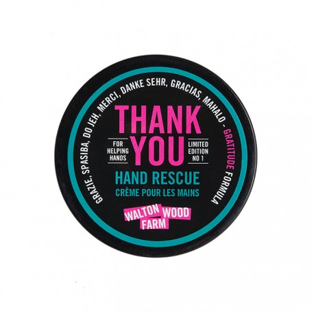 Hand Rescue 4 oz  Thank You cream unscented