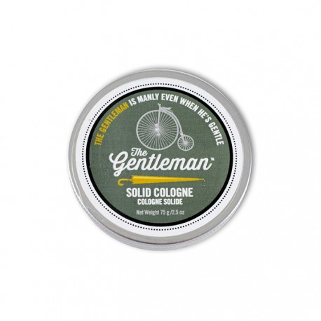 Solid Cream Cologne 2.5 oz  Gentleman