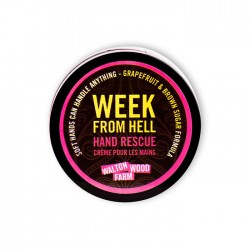 "Crème pour les mains ""Week From Hell"" 4 oz"