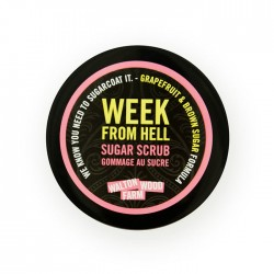 "Exfoliant au sucre ""Week From Hell"" 8oz"