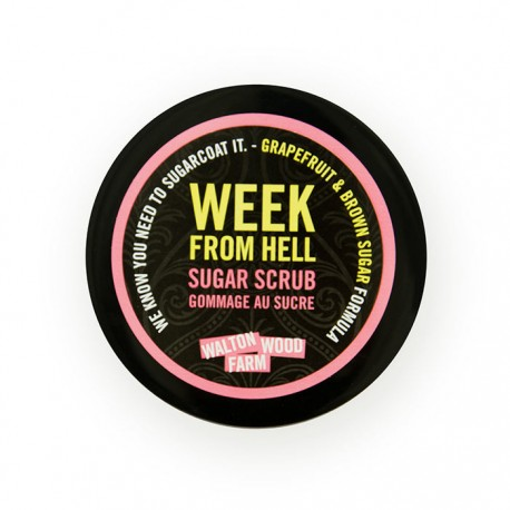 Sugar Scrub 8 oz Week From Hell (now white sugar)