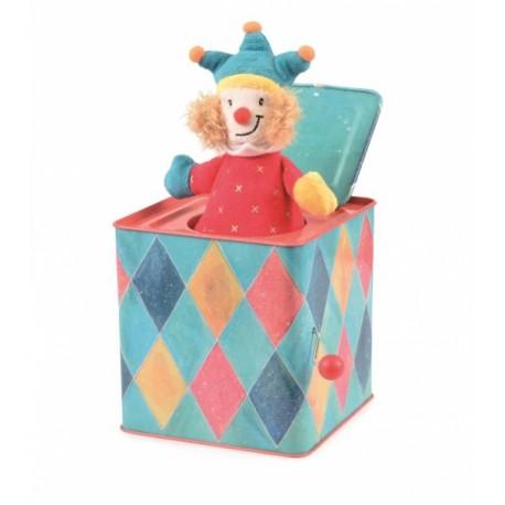 JACK IN THE BOX JOKER BLUE
