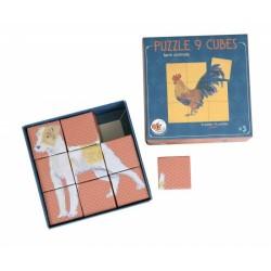 PUZZLE CUBES 9 PCS
