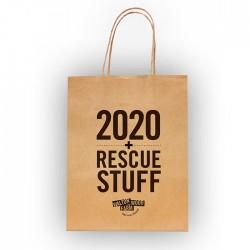 """sac cadeau """"2020 Rescue bag"""""""