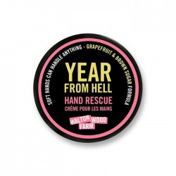 "Crème pour les mains ""Year From Hel"" 4 ozl"