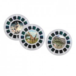 DREAM VIEWER DISCS ANIMAL / DINOSAUR / SPACE (18 PCS