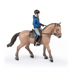 Walking horse with male rider NEW 2021