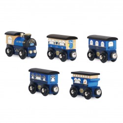 """Blue Twilight Train"""